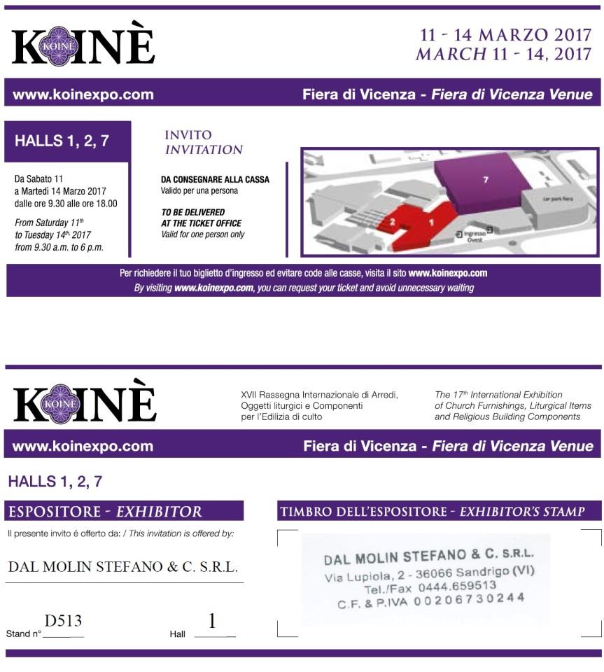 Fiera koin 2017 dal 11 al 14 marzo for Fiera monaco marzo 2017